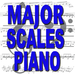 Major Scales Piano